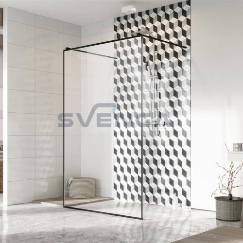 Radaway Modo New Black I Frame stabili dušo sienelė