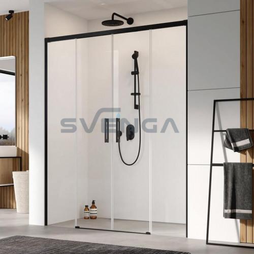 Radaway IIdea Black DWD nišinės dušo durys