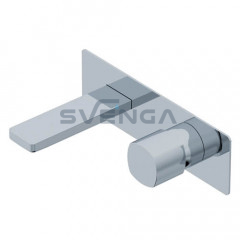 Ritmonio Haptic PR43AY101 praustuvo maišytuvas iš sienos su potinkine dalimi