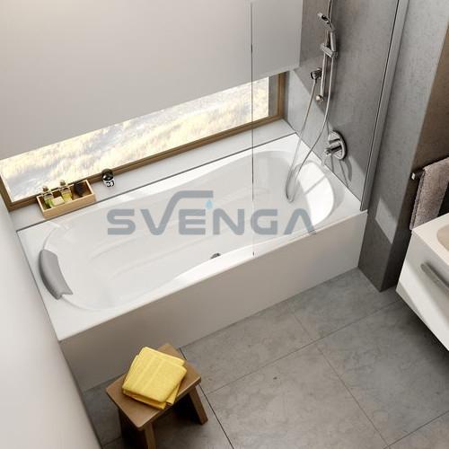 Ravak Campanula II akrilinė stačiakampė vonia