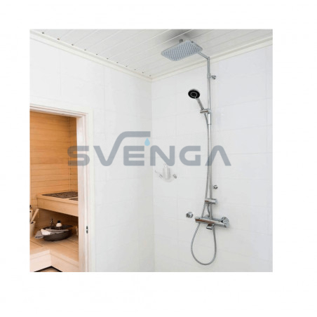Oras Optima termostatinės lietaus dušo sistemos komplektas