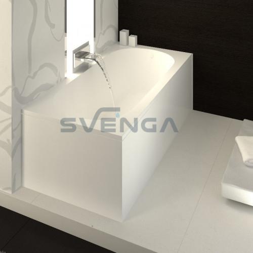 Vispool Libero 1700x800mm ir 1800x800mm lieto akmens vonia