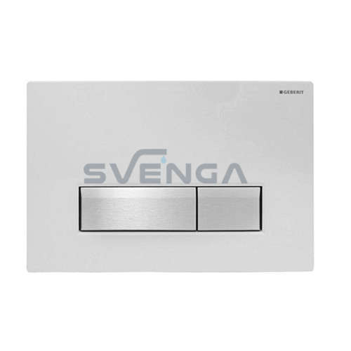 Geberit Sigma40 vandens nuleidimo mygtukas