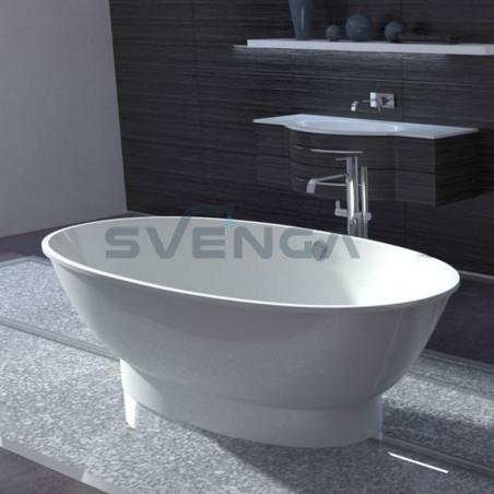 Vispool Gloria 1840x900mm lieto akmens vonia