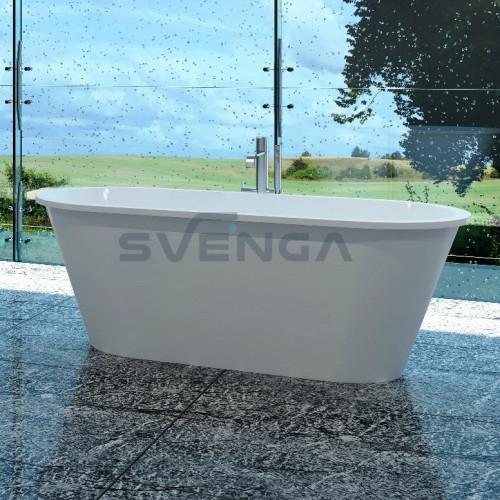 Vispool Accent 1670x710mm lieto akmens vonia