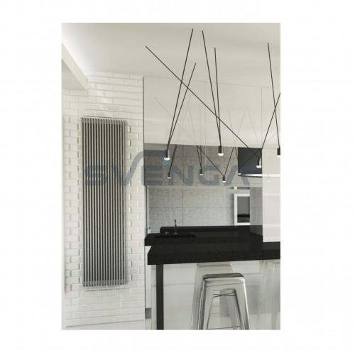 Instal Projekt Vivat radiatorius 575 mm, apatinis/kryžminis pajungimas