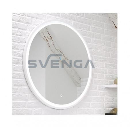 Kame Garda veidrodis su LED šviestuvu