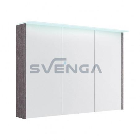 Kamė Garda pakabinama vonios spintelė su veidrodžiu, dviejų durų