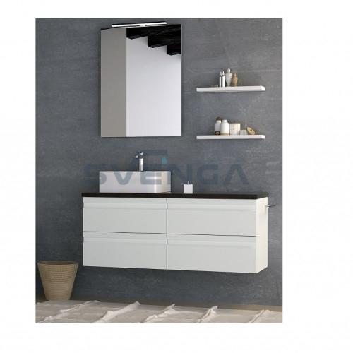 Kamė Terra 120 vonios baldų komplektas