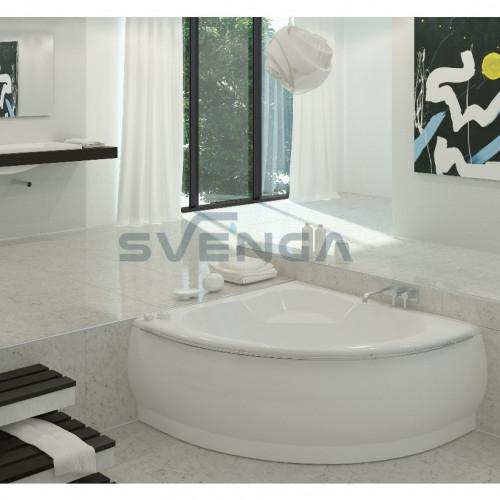 Vispool Famosa 1490x1490mm lieto akmens vonia