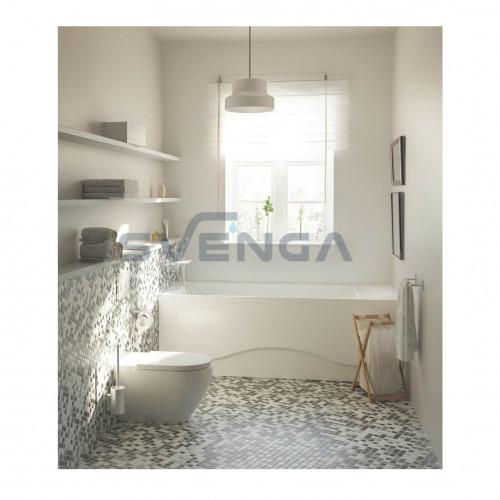 PAA Sonata akrilinė stačiakampė vonia su rėmu 1700x750 mm