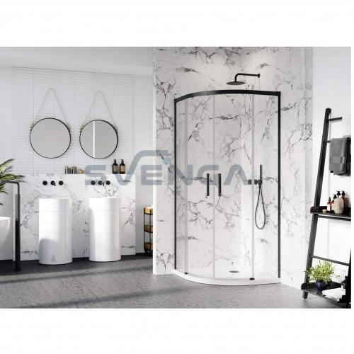 Radaway Idea Black PDD pusapvalė dušo kabina