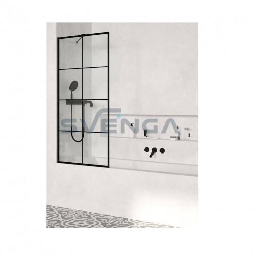 Radaway Modo New Black PNJ Factory vonios sienelė