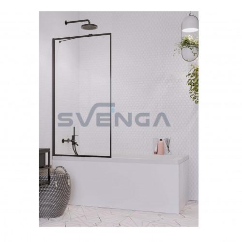 Radaway Idea Black PNJ Frame vonios sienelė