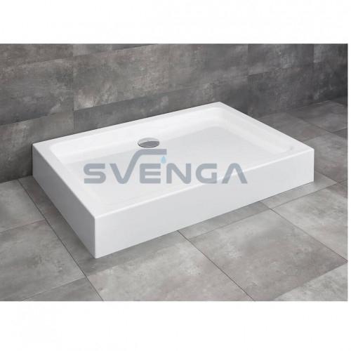Radaway Laros D Compact kvadratinis akrilinis dušo padėklas