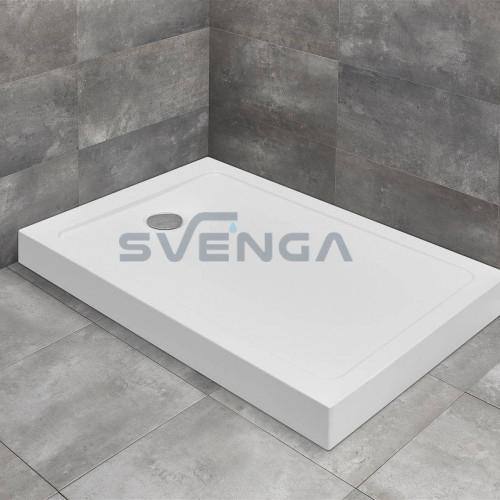 Radaway Doros F Compact kvadratinis akrilinis dušo padėklas