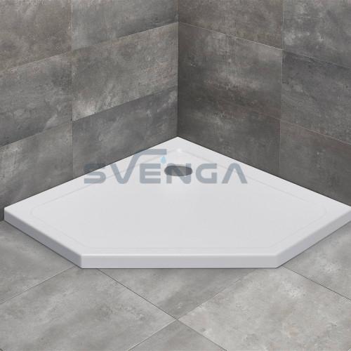 Radaway Doros PT kvadratinis akrilinis dušo padėklas