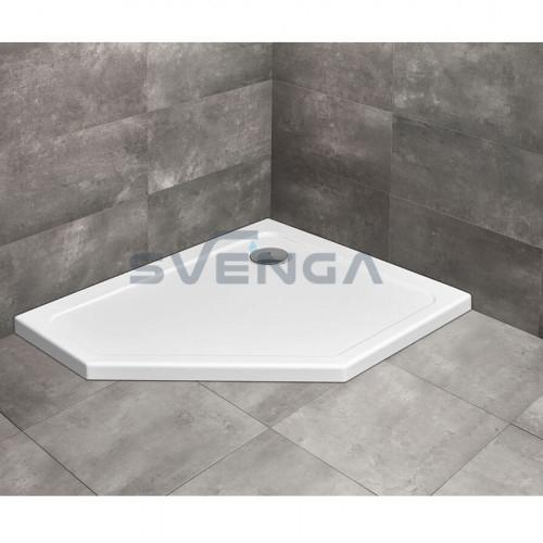 Radaway Doros PT E penkiakampis akrilinis dušo padėklas