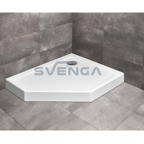 Radaway Doros PT E Compact penkiakampis akrilinis dušo padėklas