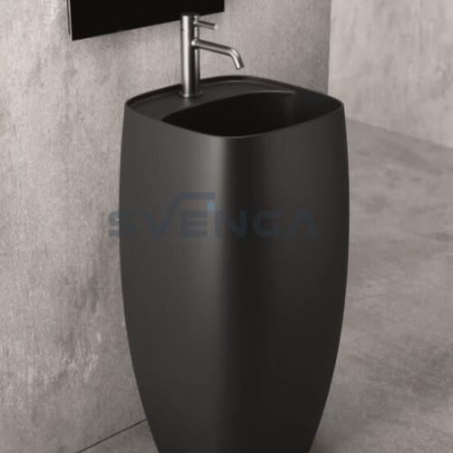 Alice Ceramica Nur 450x400 mm laisvai pastatomas praustuvas