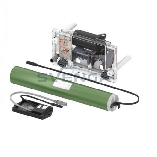 Tece TECEplanus vandens nuleidimo plokštelėsnuotolinio valdymo mechanizmas, 6 V