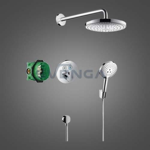 Hansgrohe Raindance Select S termostatinis potinkinis dušo komplektas