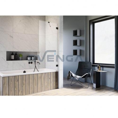 Radaway Essenza Pro Black PNJ II vonios sienelė