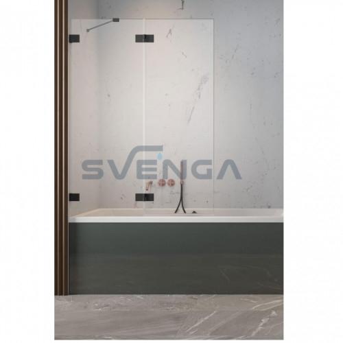 Radaway Essenza Pro Black PND II vonios sienelė