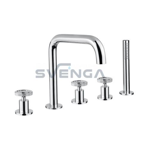Bugnatese Millenovecinquanta 4580 įmontuojamas į vonios kraštą maišytuvas
