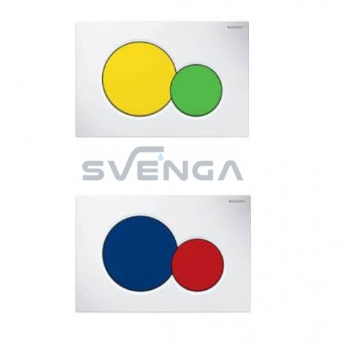 Geberit Sigma01 vandens nuleidimo mygtukas vaikų kambariui