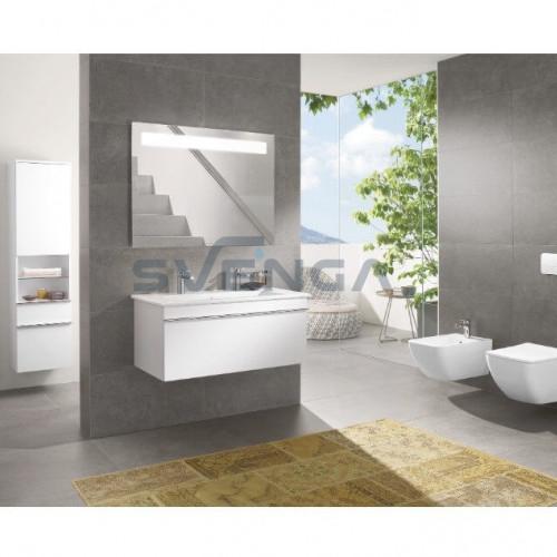 Villeroy & Boch Venticello 1000x500 baldinis/pakabinamas praustuvas su dvejomis skylėmis maišytuvui