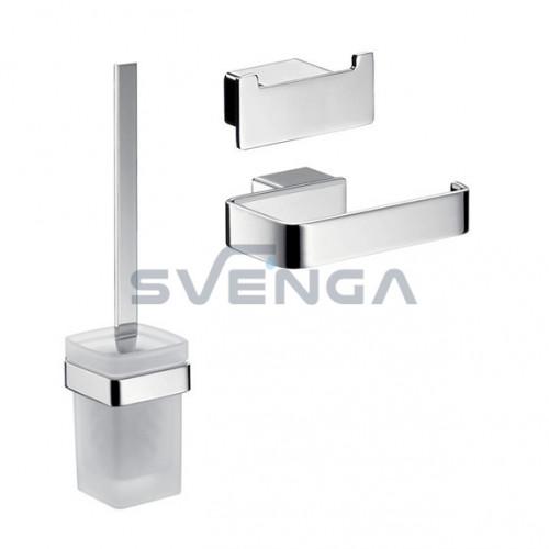 Emco LOFT vonios aksesuarų komplektas 3 dalių