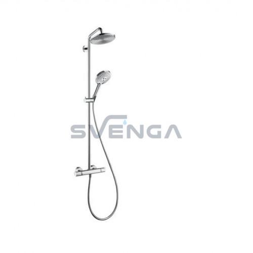 Hansgrohe Raindance S Showerpipe 240 27115000 virštinkinė termostatinė dušo sistema