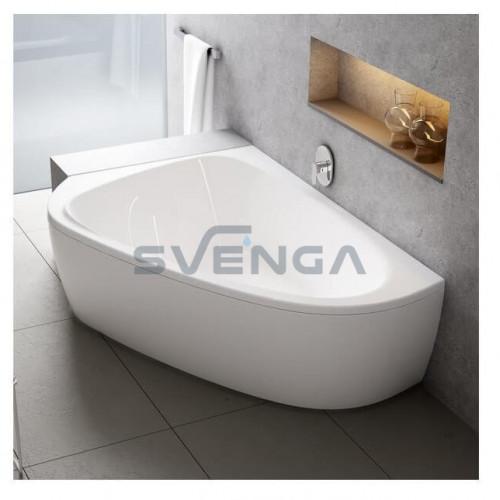 Ravak Lovestory II akrilinė asimetrinė dvivietė vonia
