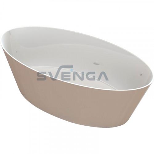 Blu Hydra 1593x720mm lieto akmens vonia
