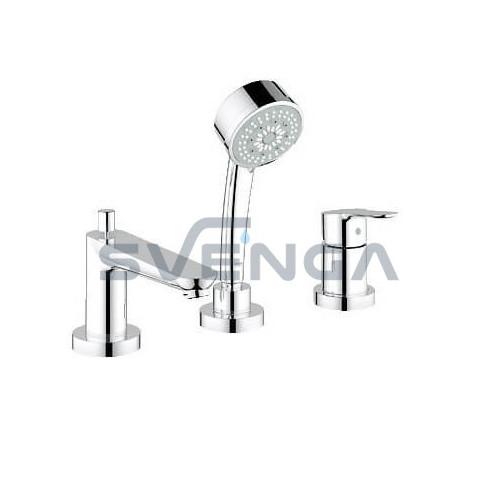 Grohe BauEdge 2511700A įmontuojamas į vonios kraštą maišytuvas 3 dalių