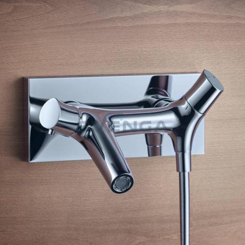 Hansgrohe Axor Starck Organic 12410000 termostatinis vonios maišytuvas