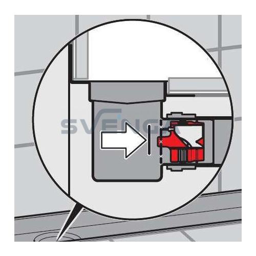 ACO ShowerDrain kvapo užsklanda montuojama į lataką
