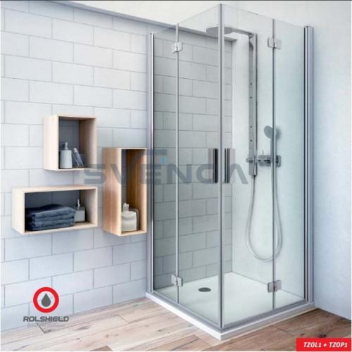 Roltechnik TZOL1+TZOP1 kvadratinė dušo kabina