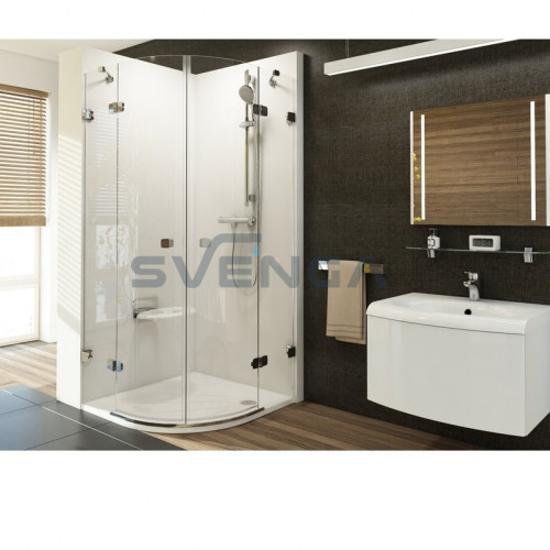 Ravak Brilliant BSKK4 pusapvalė dušo kabina