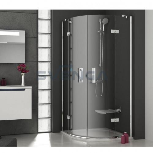 Ravak SmartLine SMSKK4 pusapvalė dušo kabina