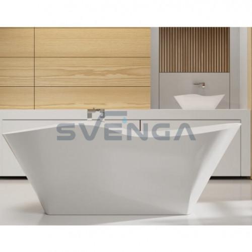 Vispool Aura Amida 1750x780 mm lieto akmens vonia