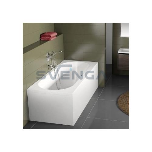 RIHO Carolina akrilinė stačiakampė vonia 170x80 cm