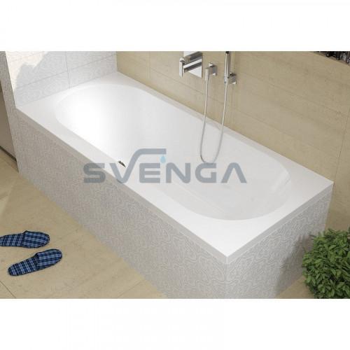 RIHO Carolina akrilinė stačiakampė vonia 180x80 cm
