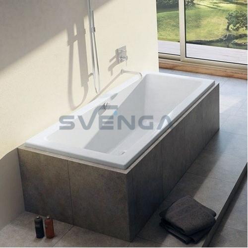 RIHO LUSSO akrilinė stačiakampė vonia