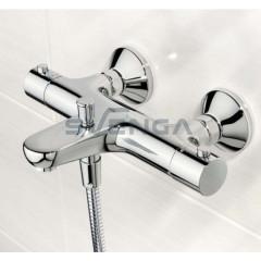 Oras Safira termostatinis vonios maišytuvas su dušo komplektu 900mm aukščio