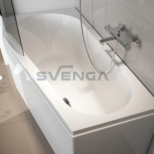 RIHO Delta akrilinė asimetrinė vonia
