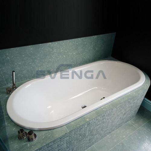 Kaldewei Classic Duo Oval plieninė vonia
