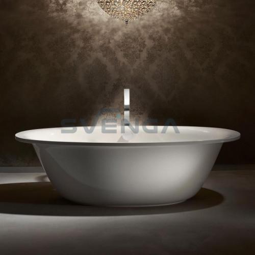 Kaldewei Ellipso duo Oval laisvai pastatoma plieninė vonia 1900x1000