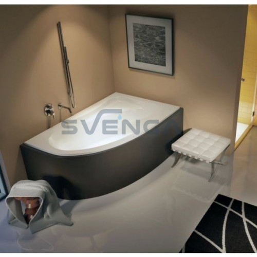 RIHO Lyra akrilinė kampinė vonia 170x110 cm